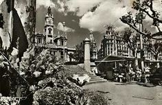 Plaza Ayuntamiento. Valencia. Spain