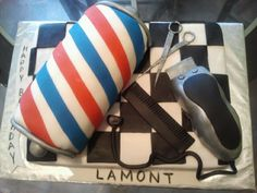 barbershop cake - Google Search