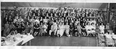 10 Year Class Reunion Photo for Academy Class of 1941, taken August 25, 1951, Pulakos on the Lake.