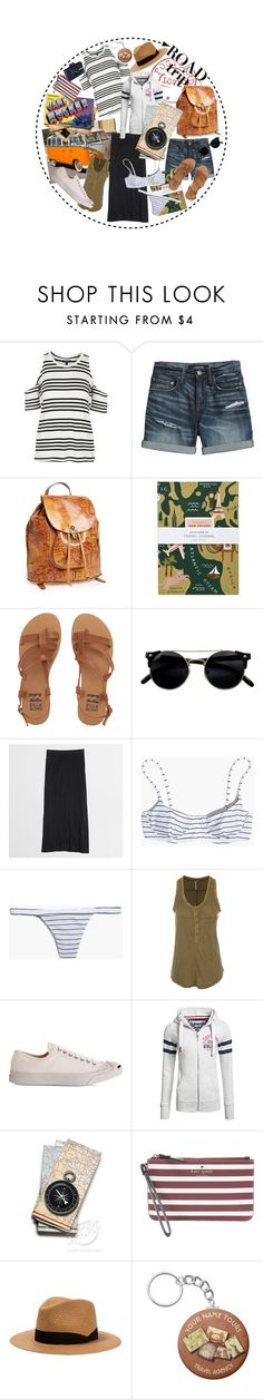 """""""The Map That Leads to You"""" by rachael-aislynn ❤ liked on Polyvore featuring Topshop, Canvas by Lands' End, Patricia Nash, Rifle Paper Co, Billabong, J.Crew, Madewell, Free People, Converse and Superdry"""