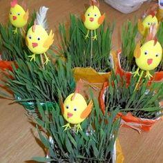 Velikonoční tvoření s dětmi (13) Jar, Teaching, Plants, Crafting, Children, Photography, Carnival, Easter, Kids