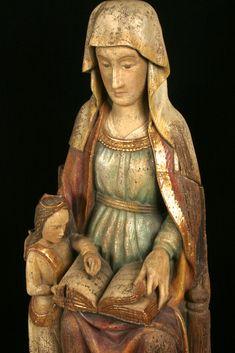 Sainte Anne et la Vierge enfant