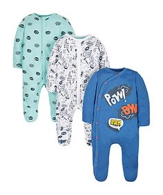 Superhero Sleepsuits