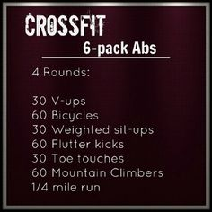 Habits Of Fit Girls - How To Stay Fit And Healthy Crossfit Abs (don't forget to eat right, or all that hard work will be cancelled out!)Crossfit Abs (don't forget to eat right, or all that hard work will be cancelled out! Crossfit Abs, Motivation Crossfit, Nutrition Crossfit, Daily Motivation, Nutrition Tips, Nutrition Education, Wod Crossfit At Home, Crossfit Women Workout, Crossfit Equipment