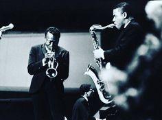 """Miles Davis, Herbie Hancock and Wayne Shorter !!! """"Berlin Philharmonie"""", Berlin, West Germany, September 25, 1964"""