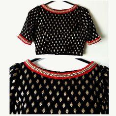 Sari Blouse Designs, Saree Blouse Patterns, Fancy Blouse Designs, Designer Blouse Patterns, Stylish Dress Designs, Blouse Styles, Indian Blouse, Sarees, Zardosi Work