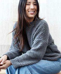 18f81bf4474b26 Free Knitting Pattern for Bramble Sweater Aran Knitting Patterns