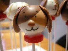 Dog cakepops