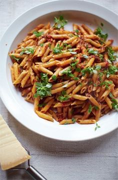 Lovely pasta recipe. I hate how good Jamie Oliver is.