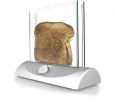 Transparent toaster!!! AWESOME!!