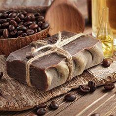 Recipe for cold process mocha and coffee soap.