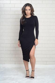 High Society Dress - Black