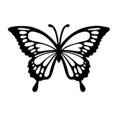 Pretty butterfly yeti decal, die cut vinyl, car decal sticker, for car, win Butterfly Stencil, Butterfly Drawing, Butterfly Template, Flower Template, Butterfly Design, Butterfly Cards, Butterfly Outline, Crown Template, Simple Butterfly