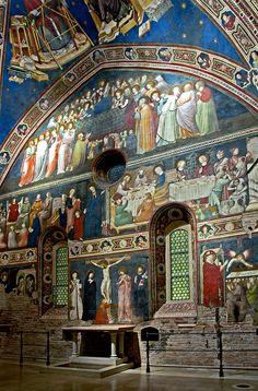 Tolentino: Basilica-di-San-Nicola-04 - Cappellone Tolentino, Italy Macerata Marche