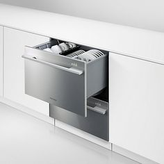 Double draw dish washer :) must have for the next place!!