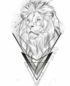 Lion Head Tattoos, Leo Tattoos, King Tattoos, Cool Forearm Tattoos, Arrow Tattoos, Body Art Tattoos, Clock Tattoo Design, Lion Tattoo Design, Tattoo Design Drawings