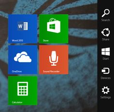 Charms Menu   How To Search Better & Faster On Windows 8