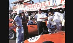 Dan Gurney, Phil Hill, Carlos Chiti