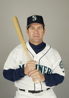 Designated hitter Edgar Martinez #11 of the Seattle Mariners poses for a portrait during the 2004 MLB Spring Training Photo