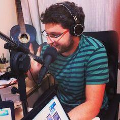 Podcast 62 sendo gravado e a felicidade é enorme! rs