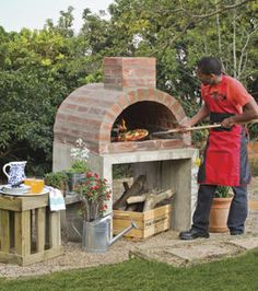 DIY Brick Pizza Oven Instructions – DIY Outdoor Pizza Oven Ideas Projects Related posts:Honey and lime chicken skewers with potato spaghettiHerb butter spelled Zupfbrot- must not be missing for grillingGrill Trends 2019 Backyard Projects, Outdoor Projects, Garden Projects, Backyard Ideas, Patio Ideas, Landscaping Ideas, Outdoor Ideas, Brick Projects, Shade Landscaping