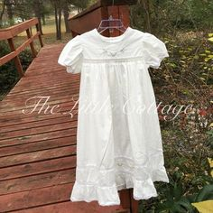 The Little Cottage  ~ Products ~ Heirloom Portrait Dress ~ Shopify