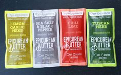 Introducing Single-Serve Butter Packets — Epicurean Butter #epicureanbutter #butter