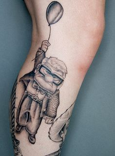 Up disney tattoo for Adventure is out there tattoo