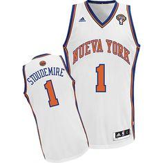 adidas New York Knicks NBA  Amar'e Stoudemire Latin Nights Swingman Jersey