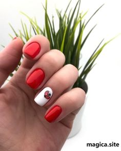 Long Square Nails, Red Manicure, Red Nail Art, Almond Nails Designs, Dream Nails, Nail Trends, Gel Polish, Nail Art Designs, Hairstyles