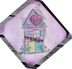#cre8time for coasters! Darling Creations by Dorothy Adams of Woodware Craft Collection