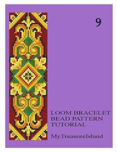 Bead Loom Vintage Motif 8 9 10 11 Multi-Color от MyTreasureIsland