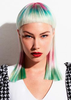 Couture Punk by Jo Bellamy | See the full #colour collection at salonmagazine.ca #punk