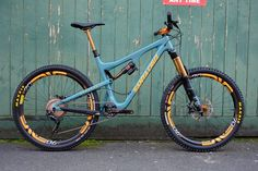 Trailhead bicycle co. Getting it just about perfect with this Santa Cruz Bronson.