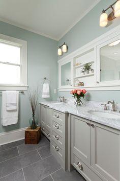 Historical St. Paul Renovation - traditional - Bathroom - Other Metro - Fluidesign Studio