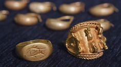 Archaeologists find ancient jewelry, will this find inspire designs this season?