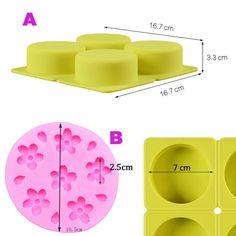 Maison de Poupées Miniature 2 partie fromage PLANT LEAF réutilisable moule silicone