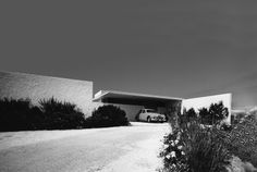 N. Valsamakis - House in Anavyssos 1961, modern architecture in Greece