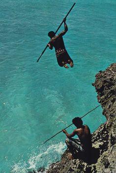 fishing in Solomon Islands