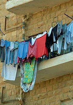 Large family's laundry