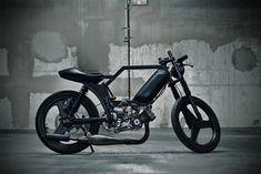 Peugeot 103 Custom - CherryCoke - Pipeburn - Purveyors of Classic Motorcycles, Cafe Racers & Custom motorbikes