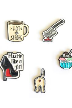 Fun and unique enamel pins for your collection.or give as a gift! Paper Companies, Papers Co, Girls Be Like, Paper Goods, Daisy, Stationery, Enamel, Yellow, Unique