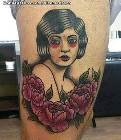 Tatuaje hecho por Nicolás Madrazo de Salta (Argentina). Si quieres ponerte en contacto con él para un tatuaje/diseño o ver más trabajos suyos visita su perfil: https://www.zonatattoos.com/nicomadrazo  Si quieres ver más tatuajes de rostros visita este otro enlace: https://www.zonatattoos.com/tag/411/tatuajes-con-rostros  Más sobre la foto: https://www.zonatattoos.com/tatuaje.php?tatuaje=109388