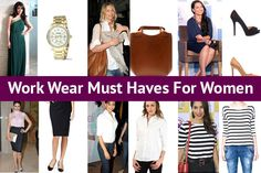 6 Work Wear Must Haves For Women