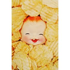 doll chips print aceo size POTATO CHIP by boopsiedaisy on Etsy https://www.etsy.com/listing/65278944/doll-chips-print-aceo-size-potato-chip