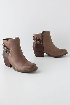 Two-Tone Ankle Boots - Anthropologie.com