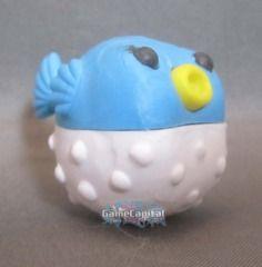 Blue Blowfish Ocean Gomu Collectible Eraser www.thegamecapital.com #gomu #gomuerasers #erasers