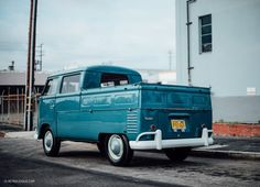 This VW Type 2 'Binz Bus' Is A Rare Form Of Transporter • Petrolicious