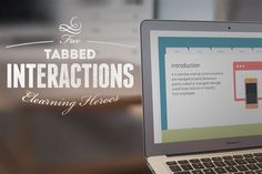 11 Free Tabbed Navigation Elearning Templates designed with Articulate Storyline