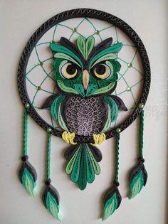Bird - Quilling Wall Art Bird Art/ Bird Art Work/ Quilling Art/ Paper Art/ farmhouse decor/ Decor/ Home/ Bird art Neli Quilling, Quilling Images, Paper Quilling Cards, Paper Quilling Flowers, Paper Quilling Patterns, Paper Quilling Jewelry, Origami And Quilling, Quilled Paper Art, Quilling Craft